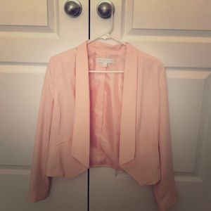 Pale pink suit jacket- EXCELLENT CONDITION